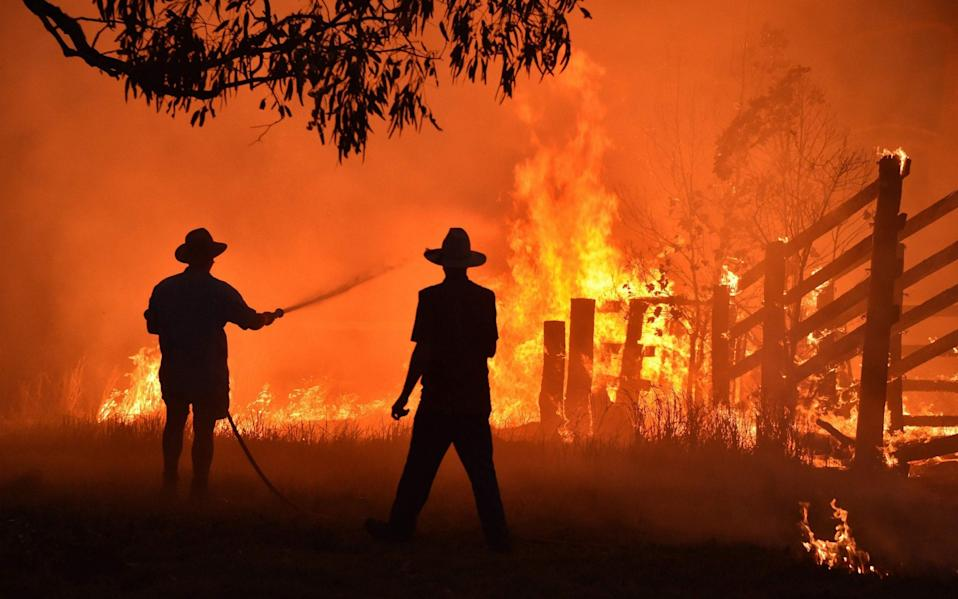 Climate-worsened disasters will become more frequent, more costly and more severe, the commission found - PETER PARKS/AFP via Getty Images