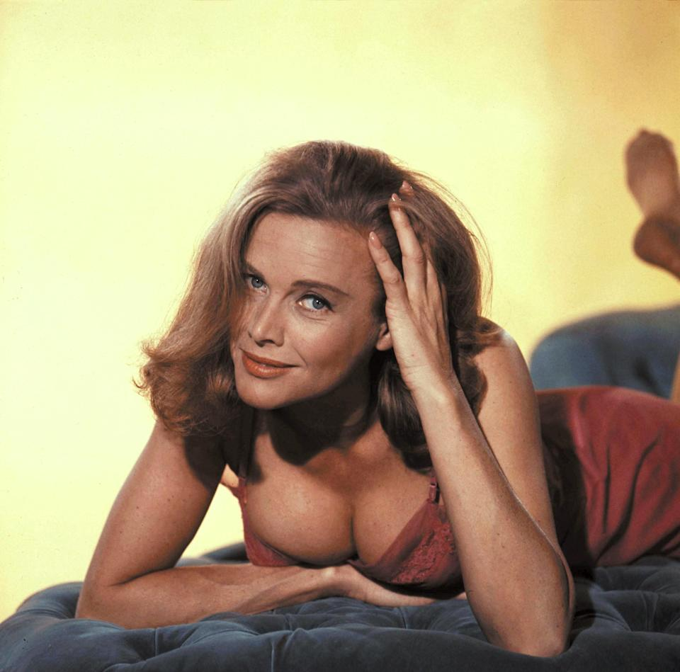 Honor as Pussy Galore in 1964's Goldfinger (Photo: Kobal/Shutterstock)