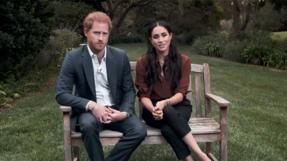 Prince Harry Meghan Markle vote video Time 100