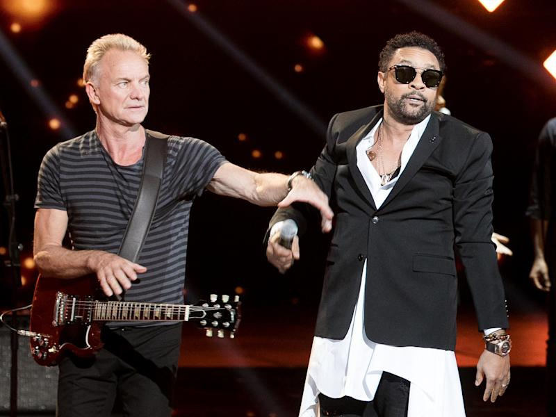 Sting and Shaggy are releasing a Jamaican-inflected album next month: Marc Piasecki/WireImage
