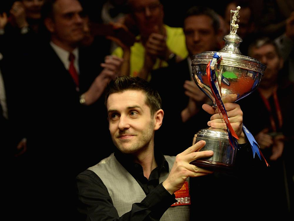 Selby won the tournament at the Crucible 12 months ago: Getty