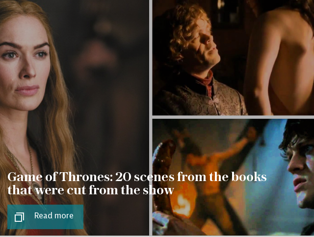 Game of Thrones: 20 book bits they cut from the show, from Daenerys's lesbian sex to Tyrion's hideous crimes