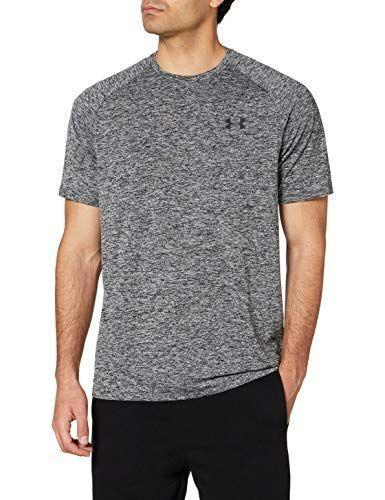 """<p><strong>Under Armour</strong></p><p>amazon.com</p><p><a href=""""https://www.amazon.com/dp/B0781383YP?tag=syn-yahoo-20&ascsubtag=%5Bartid%7C2139.g.36477804%5Bsrc%7Cyahoo-us"""" rel=""""nofollow noopener"""" target=""""_blank"""" data-ylk=""""slk:BUY IT HERE"""" class=""""link rapid-noclick-resp"""">BUY IT HERE</a></p><p><del>$25.00</del><strong><br>$19.99</strong></p><p>Under Armour's Tech 2.0 T-shirt has over 40,000 reviews on Amazon with tons of happy customers saying it's an everyday favorite. If you're not into the gray, it's available in over 50 other different colors. </p>"""