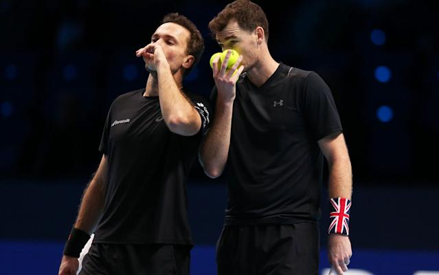 Jamie Murray and Bruno Soares face a difficult path if they are to repeat last year's run to the semi-finals - Action Plus
