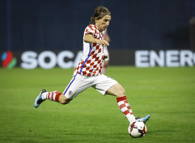 Luka Modric will be part of an outstanding Croatia midfield at the 2018 World Cup. (Getty)