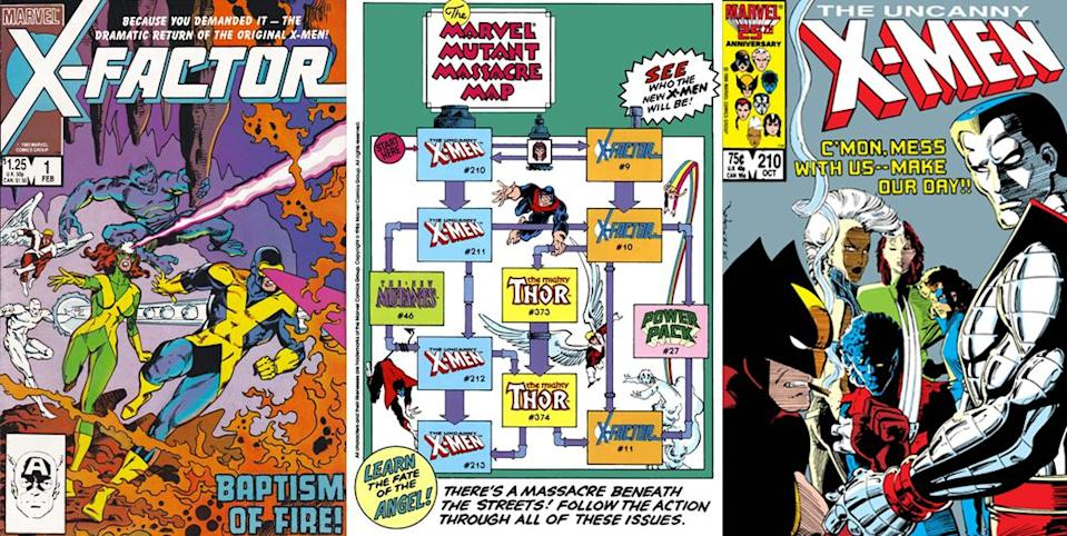 With the addition of X-Factor, and a big mega crossover, the X-Men become comics' biggest franchise.