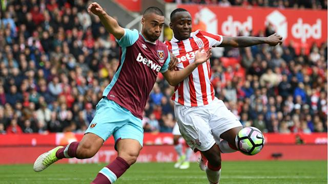 Misfiring strikers were the talk of the bet365 Stadium after West Ham and Stoke City played out a typically late-season 0-0 draw.