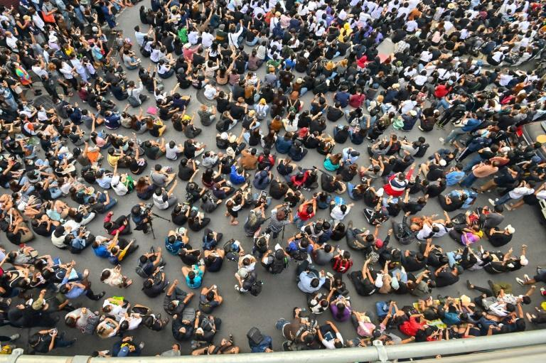 Thai pro-democracy protesters have defied warnings and gathering bans to sustain their movement, which has drawn tens of thousands to the streets in recent months