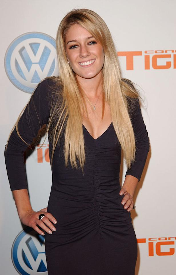 Heidi Montag surgery: However, the first change Heidi made wasn't to her nose or her boobs. She started off with some simple hair extensions. Copyright [Rex]