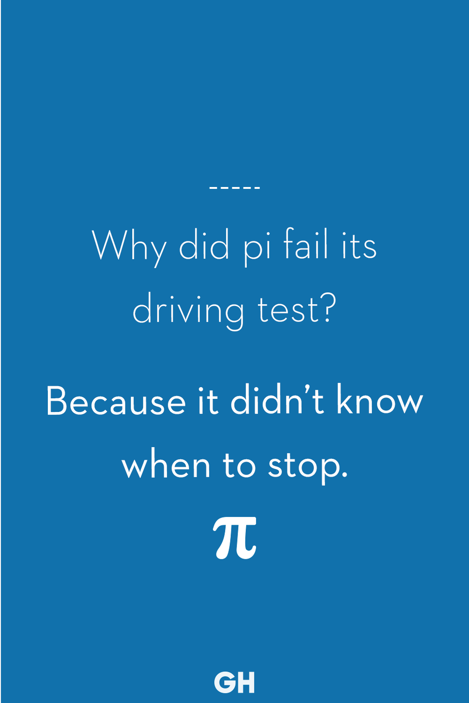 <p>Because it didn't know when to stop.</p>