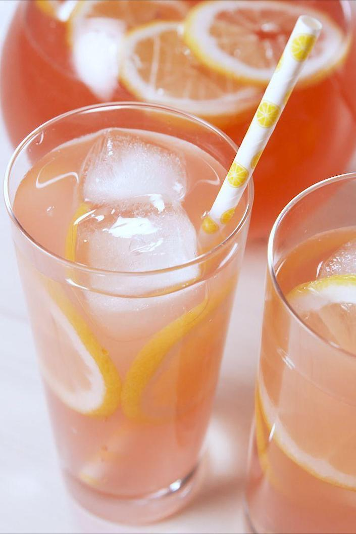 "<p>Cheers to spring!</p><p>Get the recipe from <a href=""https://www.delish.com/cooking/a19599701/moscato-lemonade-recipe/"" rel=""nofollow noopener"" target=""_blank"" data-ylk=""slk:Delish"" class=""link rapid-noclick-resp"">Delish</a>. </p>"