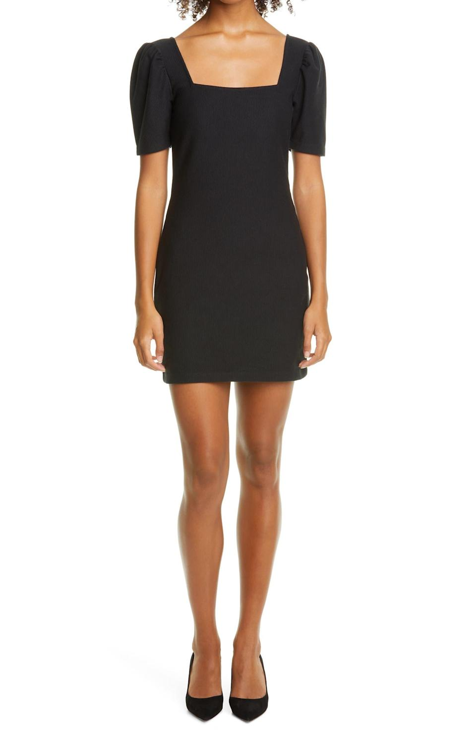 """<h2><a href=""""https://www.nordstrom.com/brands/club-monaco--18278"""" rel=""""nofollow noopener"""" target=""""_blank"""" data-ylk=""""slk:Up to 60% off Club Monaco"""" class=""""link rapid-noclick-resp"""">Up to 60% off Club Monaco</a></h2><br><br><strong>Club Monaco</strong> Square Neck Puff Sleeve Minidress, $, available at <a href=""""https://go.skimresources.com/?id=30283X879131&url=https%3A%2F%2Fwww.nordstrom.com%2Fs%2Fclub-monaco-square-neck-puff-sleeve-minidress%2F5645239"""" rel=""""nofollow noopener"""" target=""""_blank"""" data-ylk=""""slk:Nordstrom"""" class=""""link rapid-noclick-resp"""">Nordstrom</a>"""