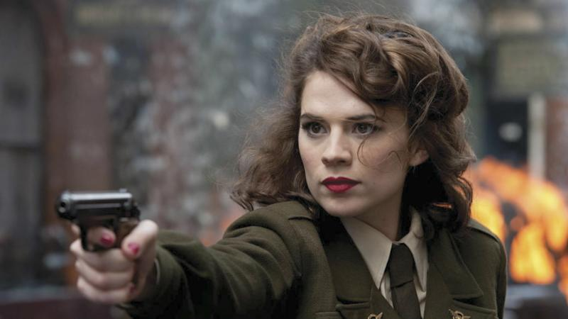 Peggy Carter in the original Captain America: The First Avenger