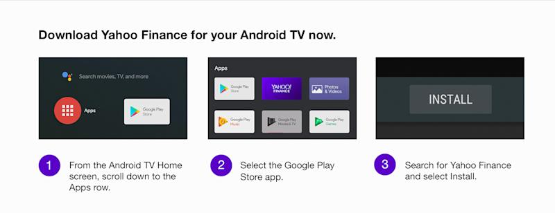 Yahoo Finance is now available on Fire TV, Android TV and