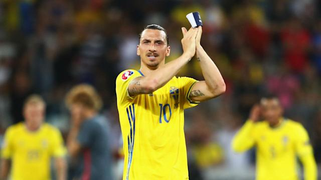 They may be into the last 16 at the World Cup without him, but Zlatan Ibrahimovic is happy for Sweden.