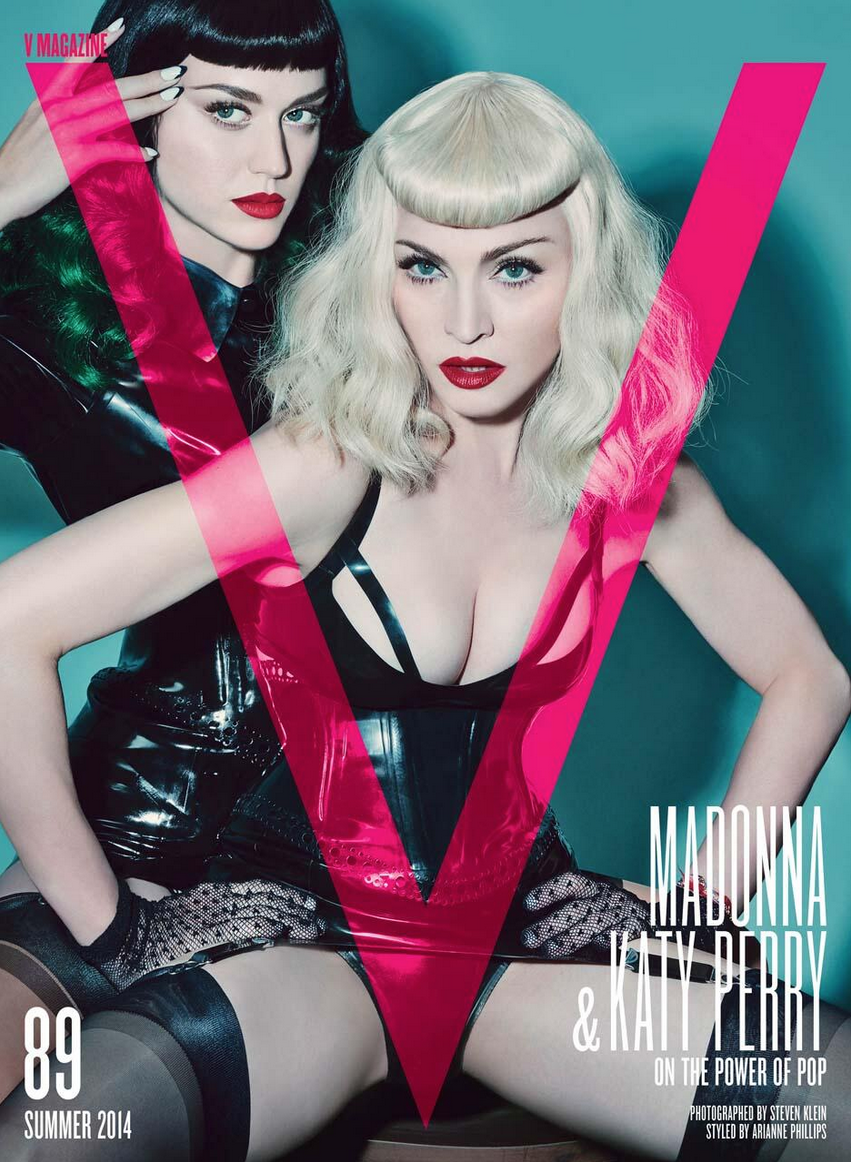 Madonna and Katy Perry