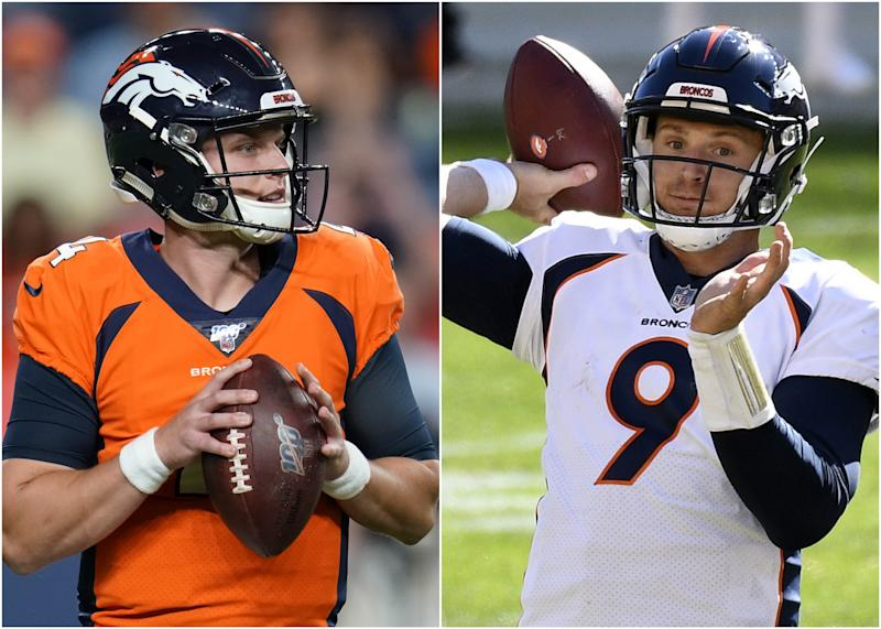Broncos updated QB depth chart after Drew Lock injury