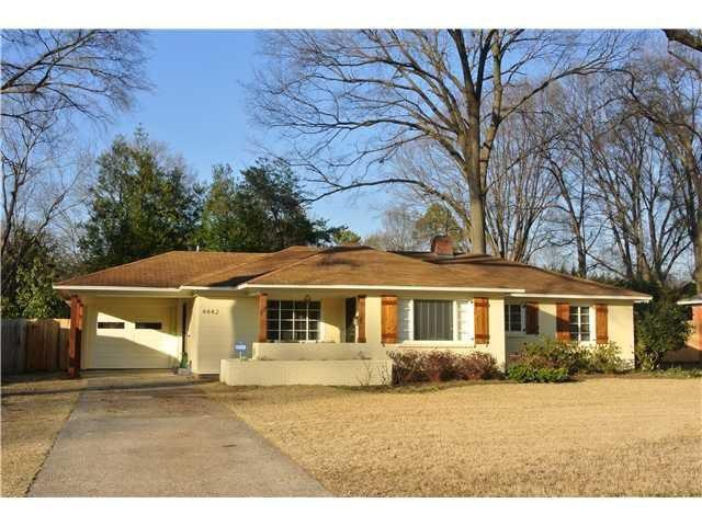 Memphis, TN  4442 Charleswood Ave, Memphis TN For sale: $200,000  This Memphis rambler has an updated kitchen with custom cabinets, stainless steel appliances and glass tile backsplash. The 1,945-square-foot home also has a large backyard with pergola.