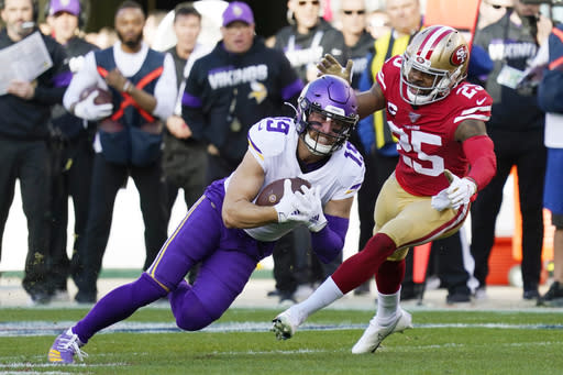 Thielen older: Vet WR guides young Vikes group without Diggs