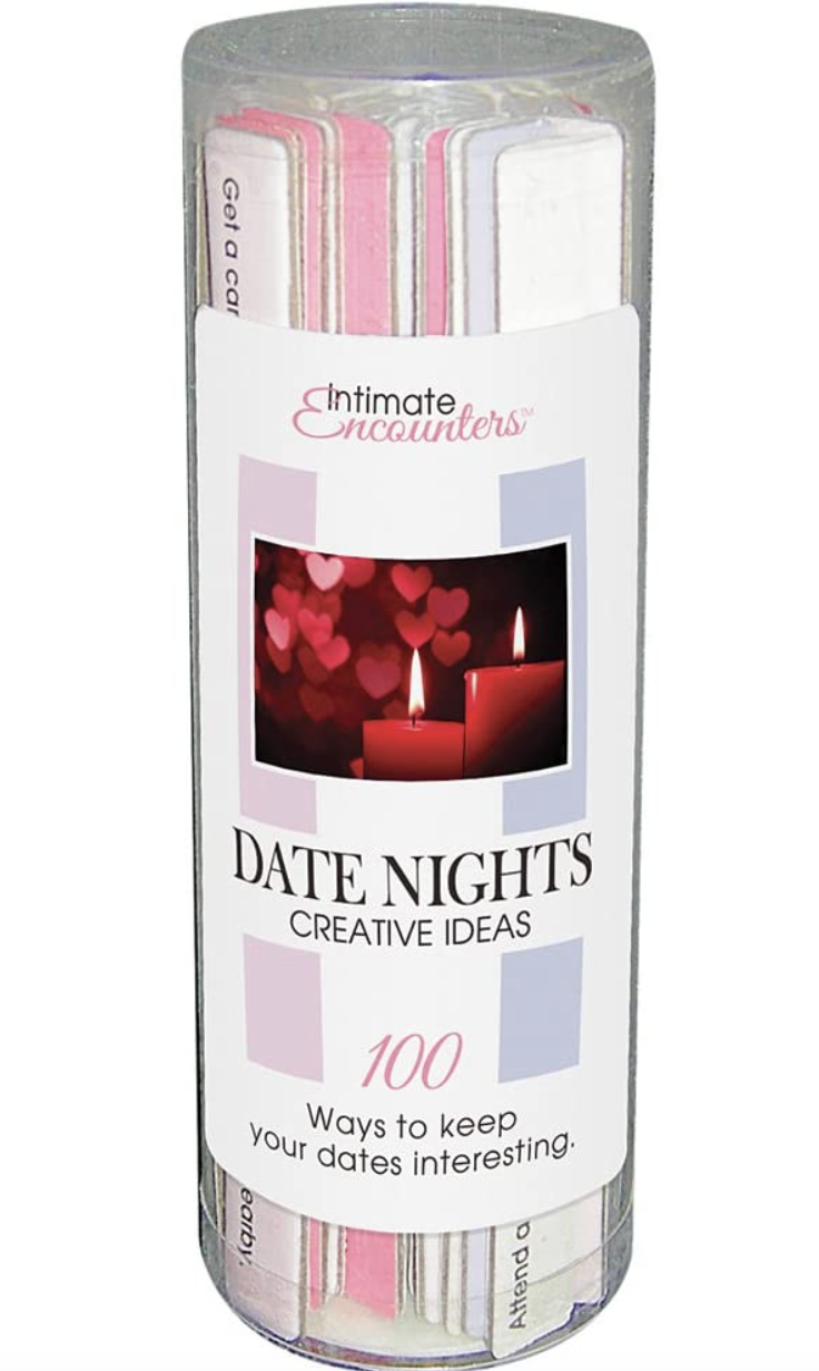 Intimate encounters date nights creative ideas. PHOTO: Amazon