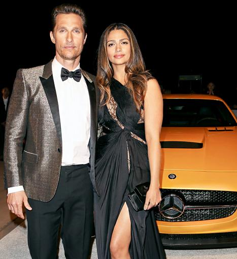 Matthew McConaughey and Camila Alves' Date Night in Palm Springs