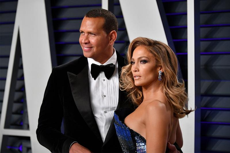 Engaged: Alex Rodriguez and Jennifer Lopez (Dia Dipasupil/Getty Images)