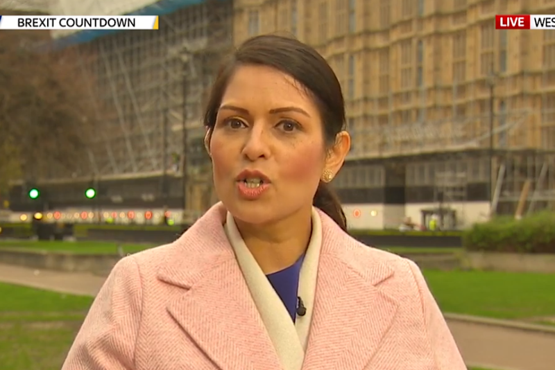 Priti Patel issued a defiant message to the EU on divergence, later dampened by the Brexit Secretary (Sky News)