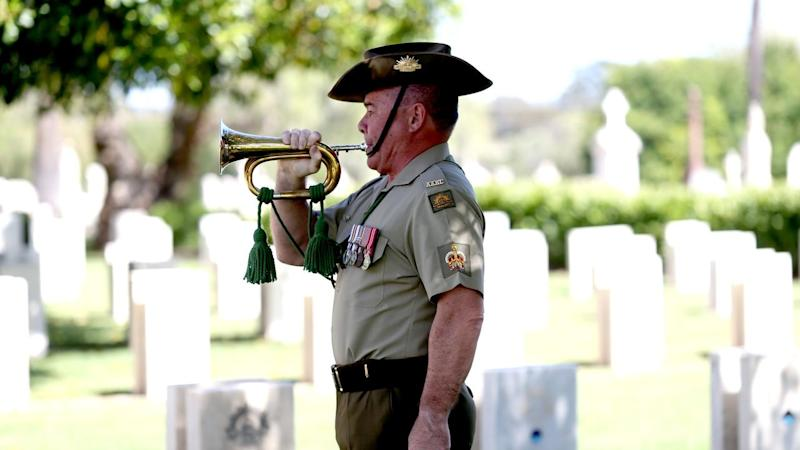 Services have been held across Adelaide to mark Remembrance Day