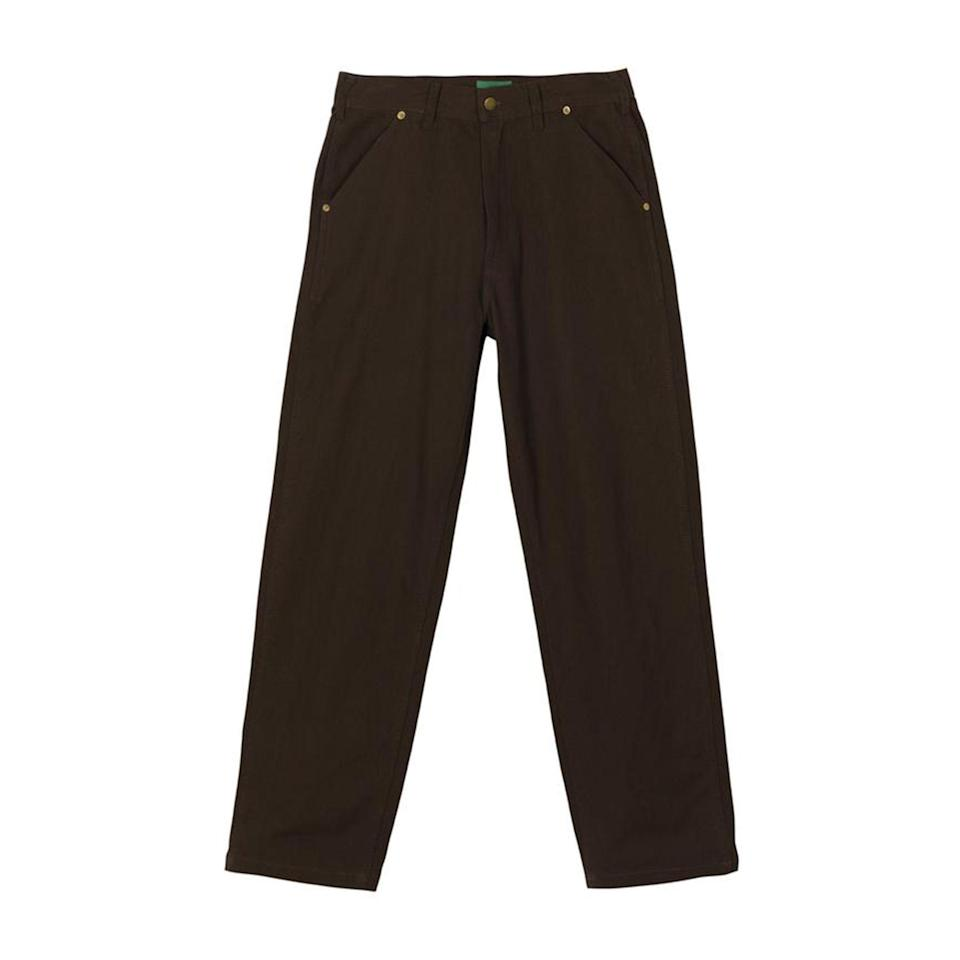 """<p>golfwang.com</p><p><strong>$90.00</strong></p><p><a href=""""https://golfwang.com/collections/bottoms/products/work-pants-by-golf-wang?variant=36257000784033"""" rel=""""nofollow noopener"""" target=""""_blank"""" data-ylk=""""slk:Shop Now"""" class=""""link rapid-noclick-resp"""">Shop Now</a></p>"""
