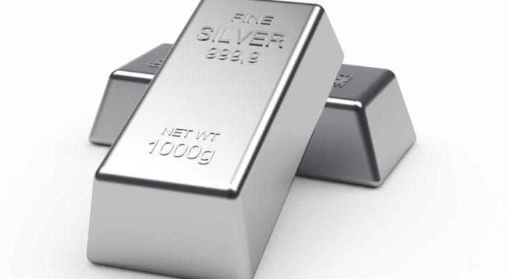 two silver bars