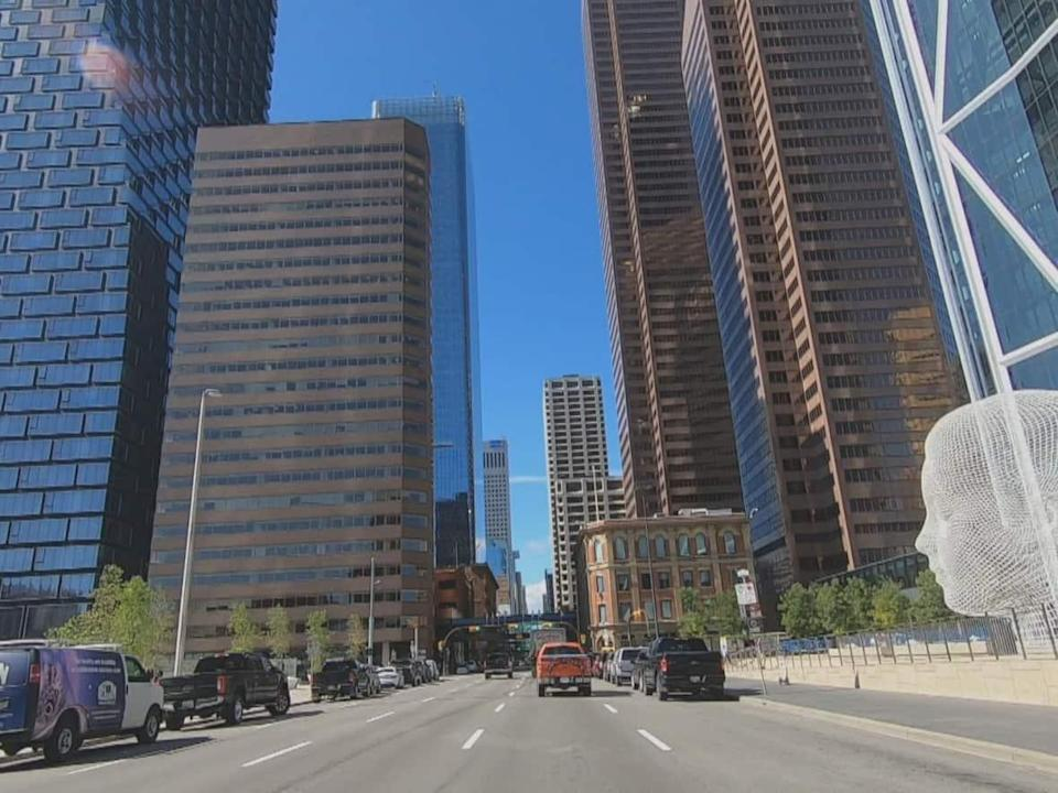 Nearly one-third of Calgary's downtown office towers have emptied out over the past few years — but some are seeing that as an opportunity to transform the city's core. (CBC - image credit)