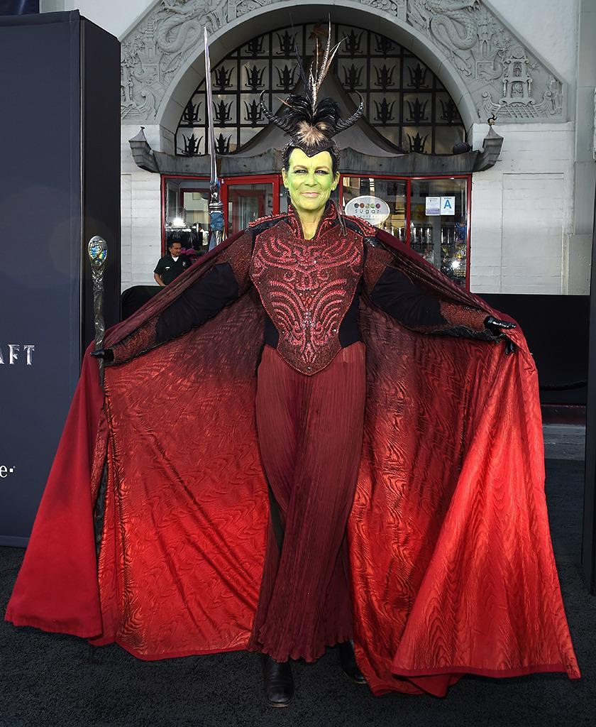 <p>Curtis — a long time fan of the <i>World of Warcraft </i>franchise — attended the premiere of <i>Warcraft</i> in full costume on June 6, 2016 in Hollywood. <i>(Photo: Axelle/FilmMagic)</i></p>