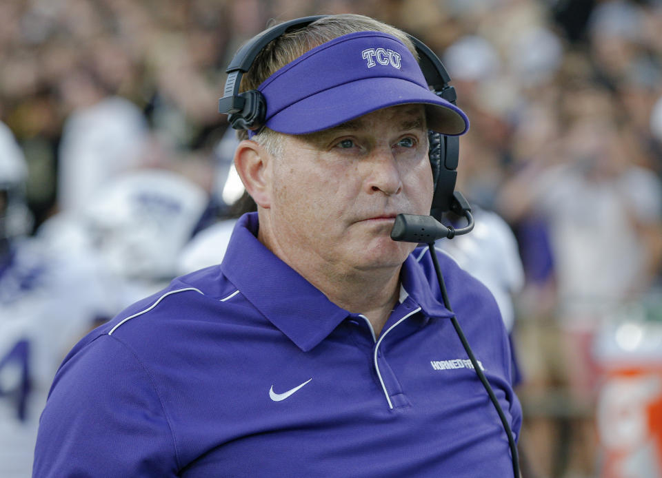 TCU coach Gary Patterson is making an album during his free time amid the coronavirus pandemic.
