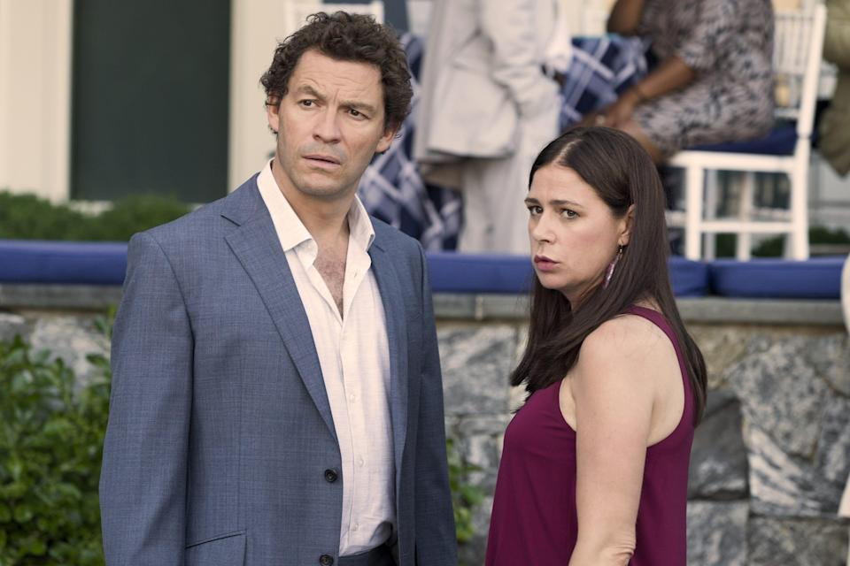 Noah (Dominic West) strays from wife Helen (Maura Tierney) in 'The Affair.'