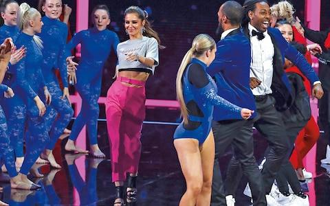 Cheryl on The Greatest Dancer, earlier this year - Credit: BBC Pictures