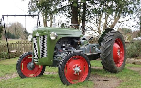 Picture of a green tractor - Credit: Matthew Field/Telegraph