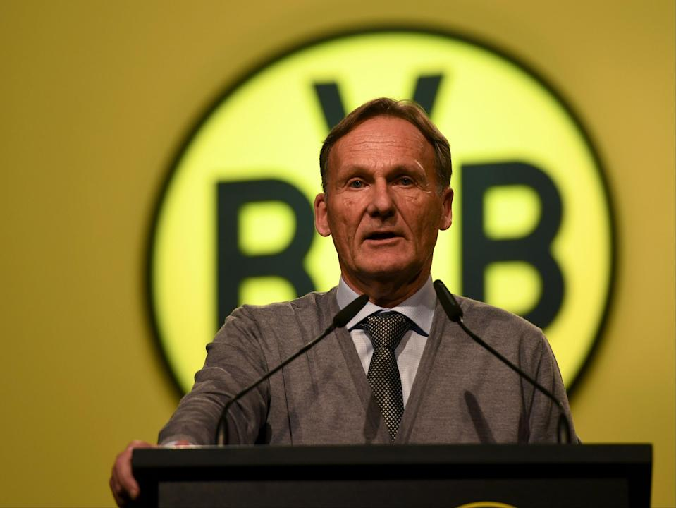 Borussia Dortmund CEO Hans-Joachim Watzke (AFP via Getty Images)