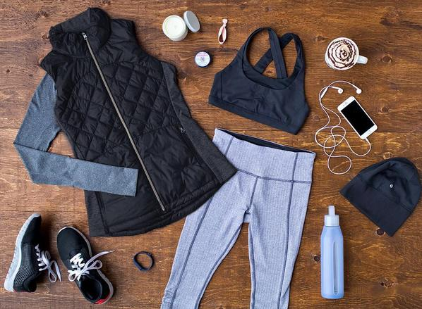 Lululemon:Lululemon's line of winter gear uses Rulu technical fabric, which is stretchy so you can still move, and it wicks away sweat while still maintaining heat. It's the perfect way to stay warm without a lot of extra bulk. (Instagram/lululemon)