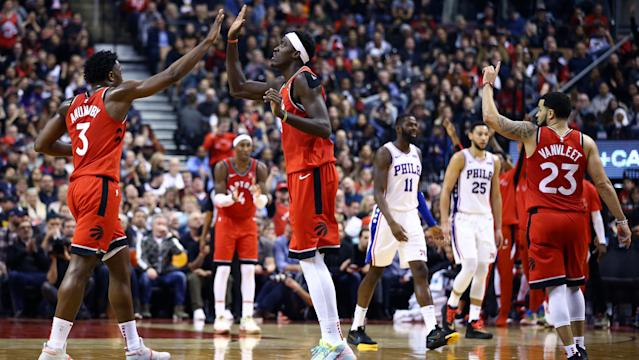 Toronto may yet be a force to be reckoned with at the very end. (Vaughn Ridley/Getty Images)