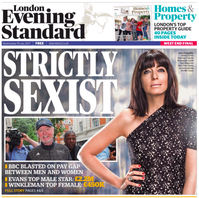 strictly sexist how the uk newspapers reacted to the