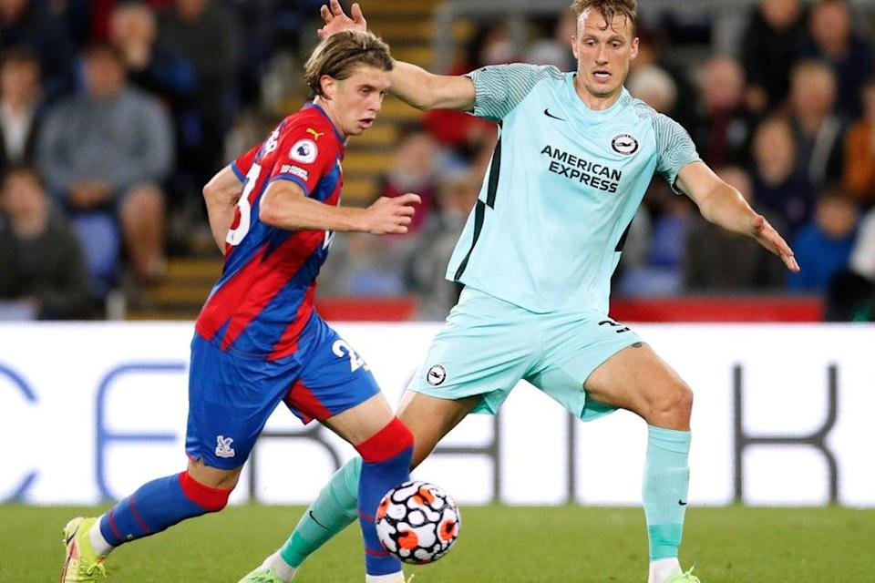 Chelsea loanee Conor Gallagher shone for Crystal Palace against Brighton  (Action Images via Reuters)