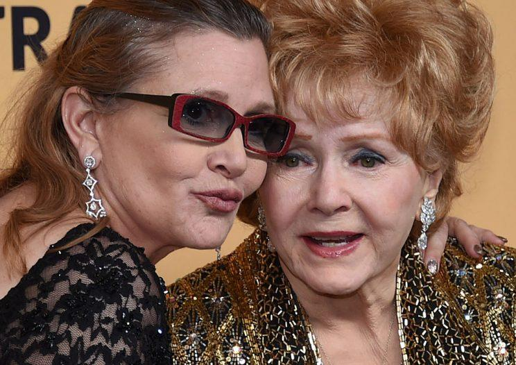 Debbie Reynolds died just a day after her daughter Carrie Fisher [Photo: Getty]