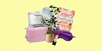 """<p>No matter how many <a href=""""https://www.oprahdaily.com/life/g31120896/mothers-day-ideas/"""" rel=""""nofollow noopener"""" target=""""_blank"""" data-ylk=""""slk:great ideas you have for Mother's Day"""" class=""""link rapid-noclick-resp"""">great ideas you have for Mother's Day</a>—breakfast in bed, a scenic stroll, a quiet staycation, or even a <a href=""""https://www.oprahdaily.com/life/g32305744/virtual-mothers-day-ideas/"""" rel=""""nofollow noopener"""" target=""""_blank"""" data-ylk=""""slk:virtual celebration"""" class=""""link rapid-noclick-resp"""">virtual celebration</a>—it's always nice to treat mom to <a href=""""https://www.oprahdaily.com/life/relationships-love/g26788572/gifts-for-mom/"""" rel=""""nofollow noopener"""" target=""""_blank"""" data-ylk=""""slk:a thoughtful gift"""" class=""""link rapid-noclick-resp"""">a thoughtful gift</a>.</p><p>We know: Mothers can be notoriously hard to buy for, especially when they claim they already have everything. So, we've compiled a variety of unique gifts ideas for Mother's Day (which, by the way, is May 9) so you don't have to fall back on the classics (looking at you, <a href=""""https://www.oprahdaily.com/life/g32053111/best-flower-delivery-services/"""" rel=""""nofollow noopener"""" target=""""_blank"""" data-ylk=""""slk:flowers"""" class=""""link rapid-noclick-resp"""">flowers</a> and <a href=""""https://www.oprahdaily.com/life/food/g23433455/gifts-for-tea-lovers/"""" rel=""""nofollow noopener"""" target=""""_blank"""" data-ylk=""""slk:fancy tea"""" class=""""link rapid-noclick-resp"""">fancy tea</a>). </p><p>While there's nothing wrong with giving your mom something practical, consider something a little more meaningful this year: A <a href=""""https://www.oprahdaily.com/life/g35429324/best-personalized-gifts/"""" rel=""""nofollow noopener"""" target=""""_blank"""" data-ylk=""""slk:personalized piece of jewelry (or art!)"""" class=""""link rapid-noclick-resp"""">personalized piece of jewelry (or art!)</a>, a <a href=""""https://www.oprahdaily.com/entertainment/g31553749/books-for-mom/"""" rel=""""nofollow noopener"""" target=""""_blank"""" data-ylk=""""slk:book that celebrates the special bond"""" """