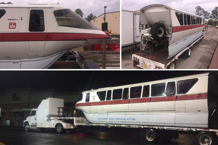 you can actually buy this disney world monorail