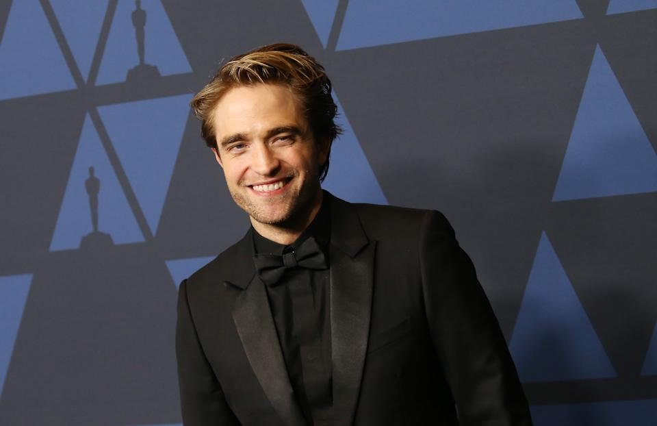 HOLLYWOOD, CALIFORNIA - OCTOBER 27: Robert Pattinson arrives to the Academy of Motion Picture Arts and Sciences' 11th Annual Governors Awards held at The Ray Dolby Ballroom at Hollywood & Highland Center on October 27, 2019 in Hollywood, California. (Photo by Michael Tran/FilmMagic)