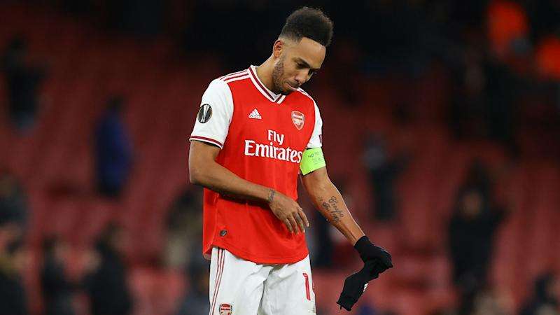 'We have to support Aubameyang' - Arteta's message to Arsenal after striker's shocking last-gasp miss