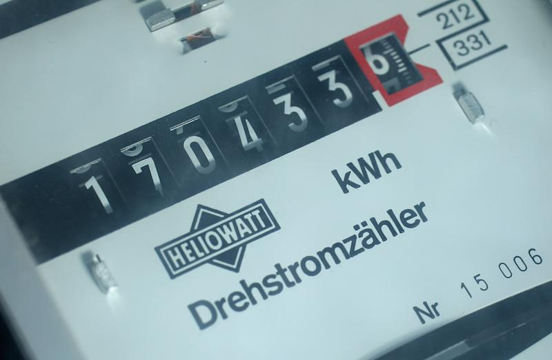 BERLIN, GERMANY - AUGUST 28: An electricity meter displays electricity consumption for a residency on August 28, 2012 in Berlin, Germany. German politicians are currently debating Germany's rising consumer electricity prices, which some attribute to the country's strong investment into renewable energy sources as it moves away from nuclear power. (Photo by Sean Gallup/Getty Images)