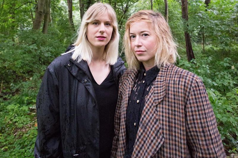 Into the woods: Lizzy Daish, left, and Kate MacTiernan in Tower Hamlets Cemetery Park: Matt Writtle