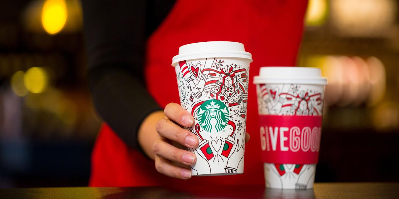 <p>Starbucks' holiday cups aren't the only thing worthy of an annual freak out: The drinks inside 'em deserve some attention, too. In the States, we're used to the Peppermint Mocha and Caramel Brulée Latte, but you've got to take a look at what baristas worldwide are whipping up this holiday season.</p>