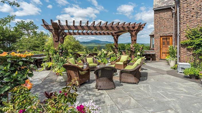 An outdoor seating area. - Credit: Photo: Courtesy of Francois Gagne